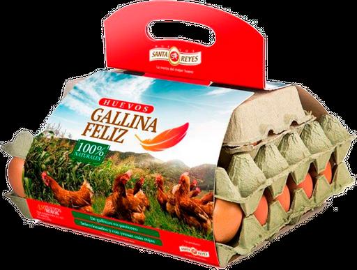 Santa Reyes Huevos Gallina Feliz 48 Unidades