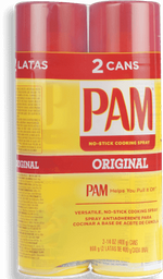 Pam Cooking Spray 2pk/400gr