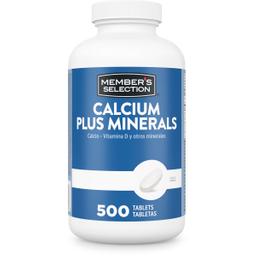 MS Calcium + D 600mg 500ct