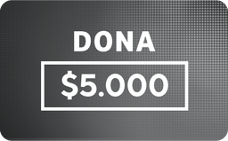 Donación: $5.000