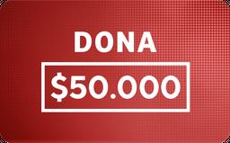 Donación: $50.000