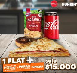 Combo Dunkin Flat