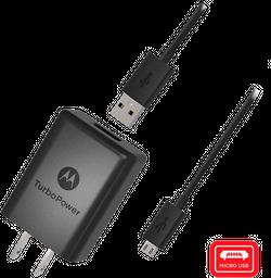 Cargador de Pared Motorola Turbo micro USB carga rápida