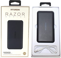 bateria portatil 10.000mah Razor Negro