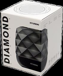 Parlante Bluetooth negro Diamond