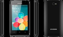 Celular E435 PLUS Hyundai Negro 8GB Rom, 1GB Ram Dual sim