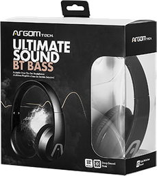 Audifono Ultimate Sound Bluetooth Negro Arg-Hs-2610Bk