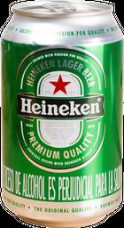 Cerveza Lata Heineken 330 ml
