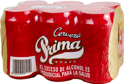 Cerveza Prima Six Pac 1980 ml