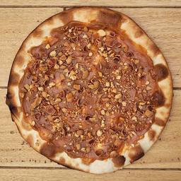 Pizza Arequipe y Maní Moto