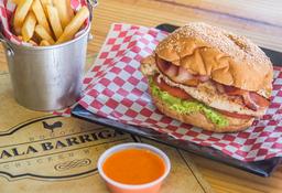 Sandwich de Pollo en Combo