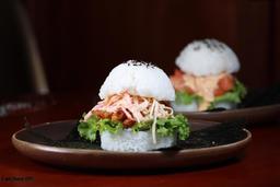 Sushi Burger langostinos