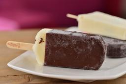 Paleta de Vainilla Cubierta de Chocolate