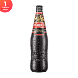 Cerveza Cusqueña Negra - Botella 330ml x1
