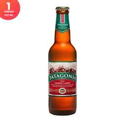 Cerveza Patagonia Amber Lager - Botella 355ml x1