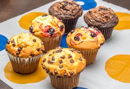 Muffin Caja x6