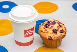 Combo Latte Illy + Muffin