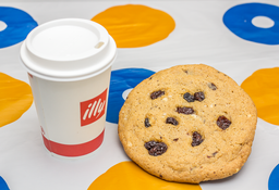 Latte Illy + Galleta