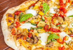 Pizza Vegetales Rostizados