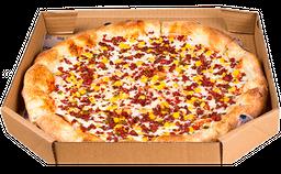 Pizza Maíz dulce, Chorizo argentino