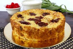 Porción de Torta de Almojábana