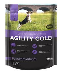 Agility Gold Pequeños Adultos 1,5 KG