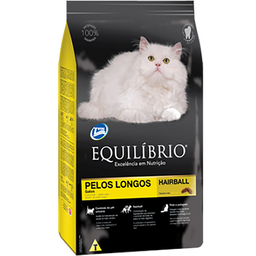 Alimento Equilibrio Gato Pelo Largo 1,5 KG
