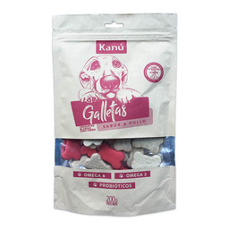 Galletas Kanu Sabor a Pollo 200 Gr