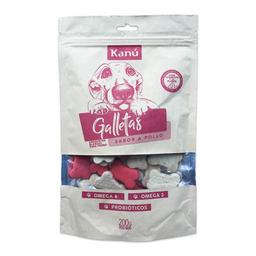 Galletas Kanu Sabor a Pollo 200 Gr