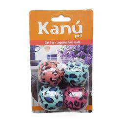 Set Bolitas Animal Print Para Gato Kanu para gato