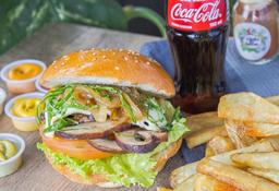 Combo Hamburguesa Doble Portobello Burger