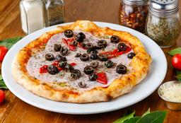 Pizza Especial Jamón y Morrones