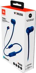 Audífonos Bluetooth JBL T110 In-ear - Azul