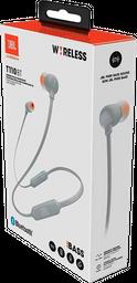 Audífonos Bluetooth JBL T110 In-ear - Gris