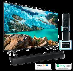 "Tv 50"" UHD 4K Smart Tv + Barra de sonido Samsung + Spotify"