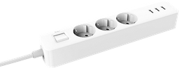 Multitoma Europea Xiaomi Mi Power Strip (3-outlet, 3 USB) EU