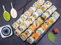 🌟🍣Super Promo 50 Bocados de sushi 🍣🌟