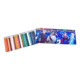 Caja de 50 lápices de colores Frozen 3+