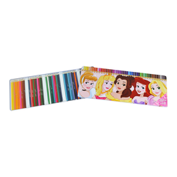 Caja de 50 lápices de colores Princesas 3+