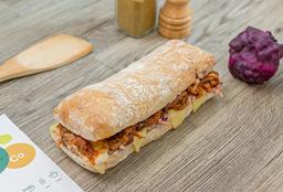 Sándwich CerdoBBQ(Pulled Pork)- M (18cm)