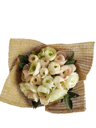 Bouquet de Ranúnculos Blancos