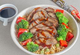 🍲 Bowl Beef Teriyaki + Limonada