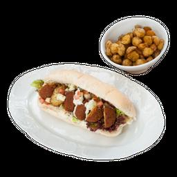 Sandwich Falafel + Corelia