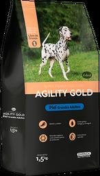 AGILITY GOLD GRANDES ADULTOS PIEL 3 KG