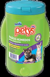 PETYS TOALLITAS PAÑITOS HUMEDOS 40 UN