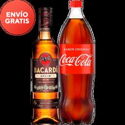 Rappicombo Bacardi añejo + Coca cola 1.5L