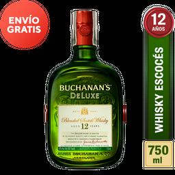 Whisky 12 Años - Buchanans Deluxe - Botella 750 Ml
