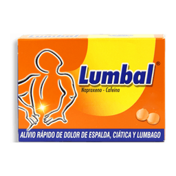 Lumbal Lumbal Blister 6 Tabletas