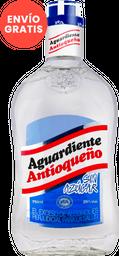 Aguardiente Antioqueño Azul Sin Azúcar 750 Ml