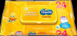 Toallitas Húmedas Pequeñín Karite X24 Und
